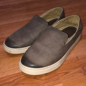 OluKai Shoes - OluKai Leather Slip On Size 6